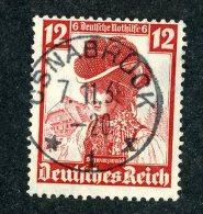 6980  Reich 1935~ Michel #593  Used  Scott #B74  Offers Welcome! - Deutschland