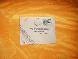 ENVELOPPE UNIQUEMENT DE 1950. / ADRESSE A L'ARCHIVISTE BIBLIOTHECAIRE A PARIS / BRAZZAVILLE A PARIS / CACHETS + TIMBRE. - Autres