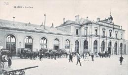 23699 RENNES 35 France - La Gare -AG 51 Attelage