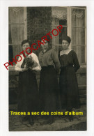 FEMMES-Civils-Mahieu-TOURNAI-CARTE PHOTO Allemande-Guerre-14-18-1 WK-BELGIEN-BELGIQUE- - Tournai