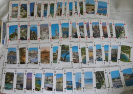 Jeu De Cartes 54 Cartes à Jouer Images De La Région De MARSEILLE - Cassis Calanques - 54 Cards