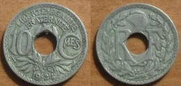 1924 - France - 10 CENTIMES, Lindauer, Poissy - France