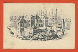 Château De KINKEMPOIS -  ANGLEUR  - Litho Ancienne De Stern G. - Luik