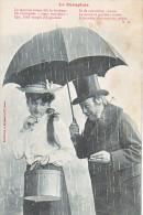 23706 BERGERET Le Parapluie Le Mauvais Temps Fait Le Bonheur.... AG -chapeau Vendeuse Trottin Vicieux Drague Serie - Humour