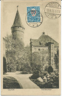 CPA SILESIE - OPPELN OPOLE - GORNY SLASK - Piastenschloss - Cachet 1920 Sur N° 29 (surcharge) YT - TB** - Polen