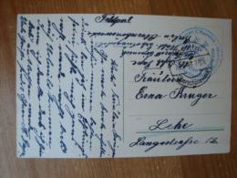 """Berlinkarte Mit Stempel""""Reserve-Lazarett Cöpenick Walderholungsstätte Berlin-Oberschöneweide"""" Gelaufen 1916 ! - Guerre 1914-18"""