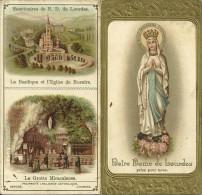 Notre-Dame De Lourdes. Livret D´Invocations Et Apparitions. - Images Religieuses