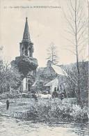 23711 La Vieille Chapelle De  PONTCHRIST- 77 FTJ ? Cheval Blanc Ruines De L´Eglise - ! état !