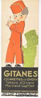 MARQUE PAGE GITANES SULTANES CIGARETTES ALLUMETTES CIGARE TABAC -groom Enfant - Marque-Pages