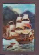 Sailing Ship. 3D Calendar. 1986 - Veleros