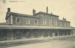Gembloux - La Gare - 1921 ( Voir Verso ) - Gembloux