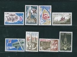 Timbres De 1977  N°1932 A 1939  Neufs ** Parfait - Unused Stamps