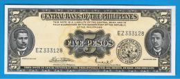 FILIPINAS - PHILIPPINES -  5 Pesos ND  SC  P-135f - Filipinas
