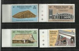 SOLOMON ISLANDS ISOLE SALOMONE 1981 CHRISTMAS NATALE NOEL NAVIDAD NATAL MNH - Isole Salomone (1978-...)