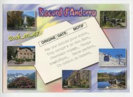 (40879) Andorre Record D' Andorra , Multivues ; Divers Aspects ; Caldea Funicamp Sant Joan De Caselles - Andorra