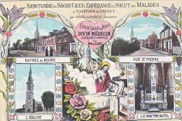 23728 Saint Germain Crioult -14 France - Sanctuaire Sacré Coeur Esperance Salut Malades Jesus Divin Medecin -multivues