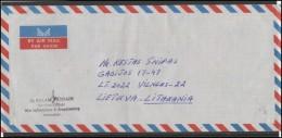PAKISTAN Postal History Brief Envelope Air Mail PK 009 SERVICE Architecture - Pakistan