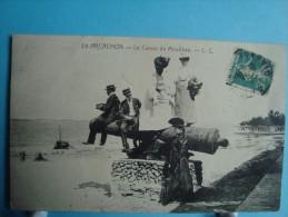 33 - Arcachon - Le Canon Du Moulleau - 1910 - Arcachon