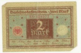 GERMANIA - 2 MARK 1920 German - QUALITA´ B - [ 3] 1918-1933 : República De Weimar