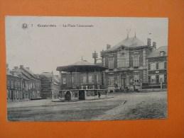 ECAUSSINNES - La Place Communale - Ecaussinnes