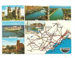 Promenade En Languedoc--Carte Géographique ---(A.817) - Maps