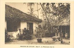Ceylon,  Missions De Ceylan - Serie II - Le Missionaire Chez Lui.  (Sri Lanka) (Ceylan) - Sri Lanka (Ceylon)