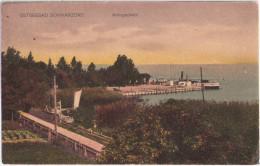 Ostseebad Schwarzort Litauen Juodkrante Anlegeplatz Segelboot Ungelaufen - Ostpreussen