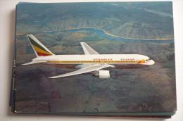 BOEING  767     ETHIOPIAN  ET AIE    /   EDITION PI N°  404 - 1946-....: Moderne