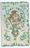 Heilige Bilder  HOLLY CARDS SANTINI P,MARIA MIT Kinder Geprägt SLOVENIEN SLOVENIA - Devotion Images