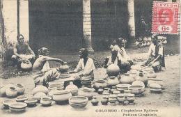 Ceylon, Colombo, Cinghalese Potters / Potiers Cingalais   (Sri Lanka) (Ceylan) - Sri Lanka (Ceylon)