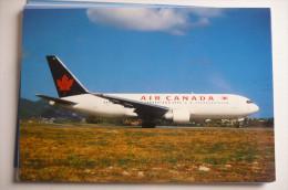 BOEING  767     AIR CANADA   C  GAUW     EDITION PI N°  865 - 1946-....: Moderne