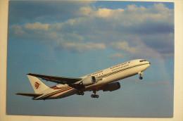 BOEING  767      AIR ALGERIE  7T VJG          EDITION PI N°  767 - 1946-....: Ere Moderne