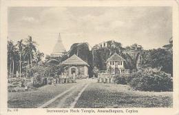 Ceylon, Isurumuniya Rock Temple, Anuradhapura   (Sri Lanka) (Ceylan) - Sri Lanka (Ceylon)