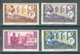 Collection Colonies Françaises ; A.E.F. ; 1937-42 ; Y&T ; Lot 001 ; Neuf - A.E.F. (1936-1958)