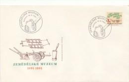 Czechoslovakia / First Day Cover (1981/08), Praha - Theme: 90 Anniversary Agricultural Museum - Landwirtschaft