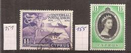 Cyprus      Y / T     151 + 155   (O) - Cyprus (...-1960)