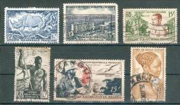 Collection Colonies Françaises ; A.E.F.  ; Y&T ; Lot 013 ; Neuf/oblitéré 2° Choix - Used Stamps