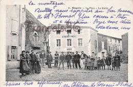 (11) Aude - Magrie - La Place - La Mairie - Très Bon état TTBE - Autres Communes