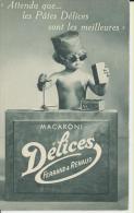 Pates Délices Ferrand Et Renaud De Lyon Macaroni N°2 Le Bon Juge - Commercio