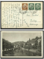 Croatia Medjimurje , Slovenia Railway  -  Lavamund Zelting Prelog 325  - 1939 Wolfsberg  Hindenburg Reich - Croazia