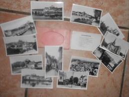 12 CARTES PHOTOS / MONTRICHARD : Vue Générale, Pont, Chateau, Donjon, Place.... - Montrichard