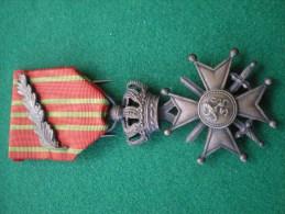 croix de guerre avec palme