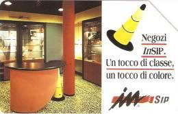 *ITALIA: NEGOZI INSIP* - Scheda Usata (variante 350a) - Fouten & Varianten