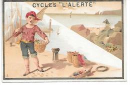 CHROMO  - CYCLES L'ALERTE - Personnage - Chromos