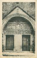 12 - CONQUES - L'Eglise - Vue De La Porte Et Tympan - France