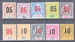 GRAND  COMORO  ISLANDS  20-29    * - Grande Comore (1897-1912)
