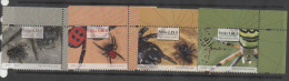 POLAND  ,2013,MNH, SPIDERS, 4v - Spiders