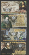 O) 2013 COLOMBIA, IMPORTANT PERSONALITIES IN ADVANCE OF ALL SCIENCES SCIENTIFIC INVENTIONS- DRAGONS-FANCY-BANKNOTE , POL - Banknotes