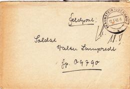 Feldpost WW2: To Gap, France: Nachrichten-Kompanie Reserve-Infanterie-Regime Nt 157 FP 09790 Dated  Traunstein (Oberbay) - Militaria