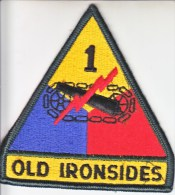 FULL SIZE PATCH    1st.  ARMOR  DIV. - Patches
